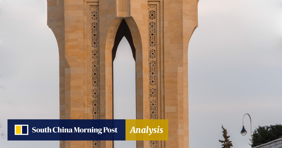 Azerbaijan, oil-rich and at the crossroads of Asia and