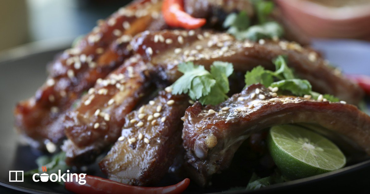 Thai slow-cooked pork ribs recipe - spare ribs the best