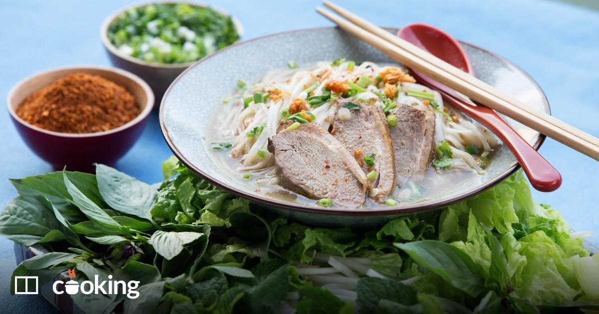 Hearty Thai duck soup