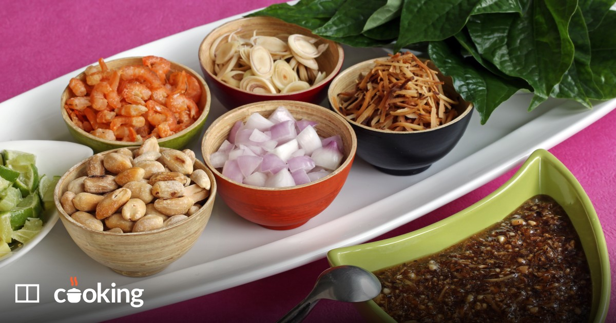 Thai salad wraps recipe, a perfect dish - and easy to make