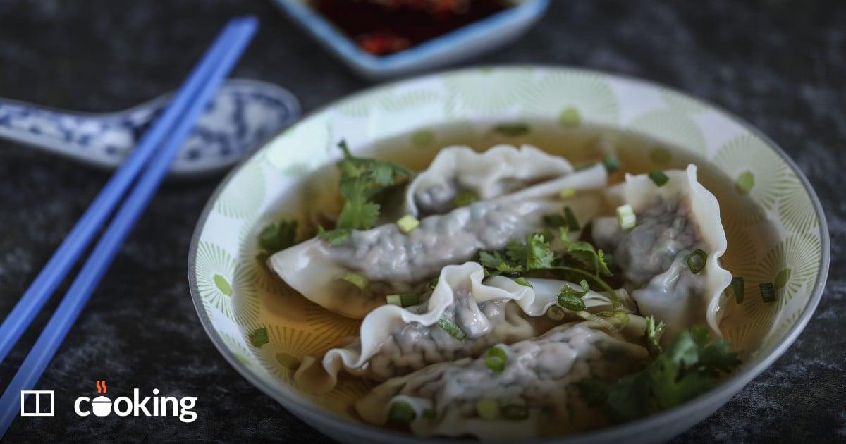 Pork and watercress dumplings - recipe for my grandma's favourites