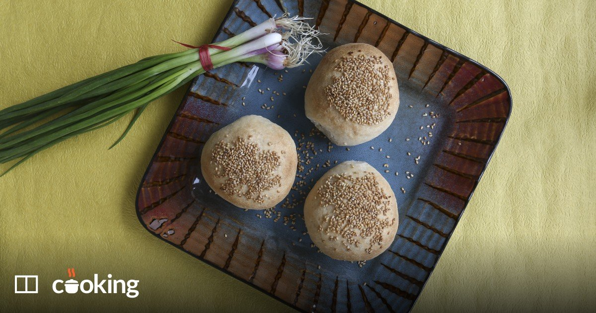 Taiwanese black pepper buns recipe - for experienced cooks