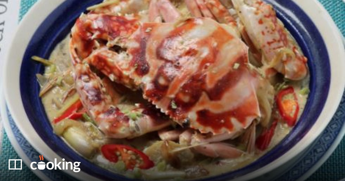 Filipino crab with lemongrass recipe - easy food to eat with friends