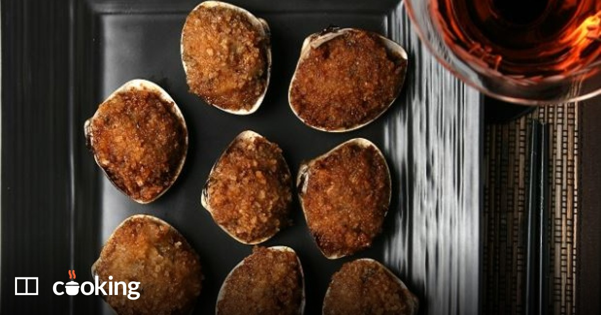 Easy Chinese fried stuffed clams recipe - for meal or finger food
