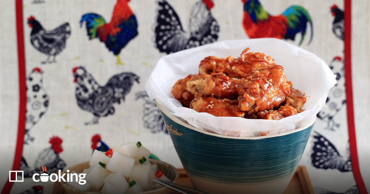 Easy Korean fried chicken recipe - how to make the other KFC