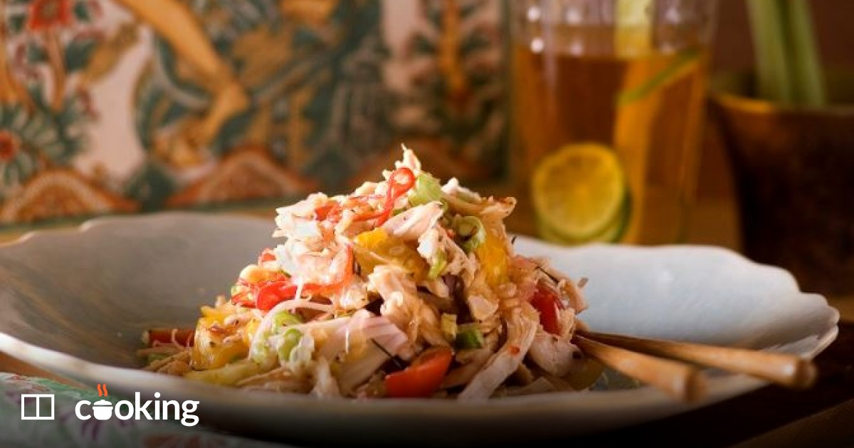 Balinese chicken salad recipe - ready in 15 minutes