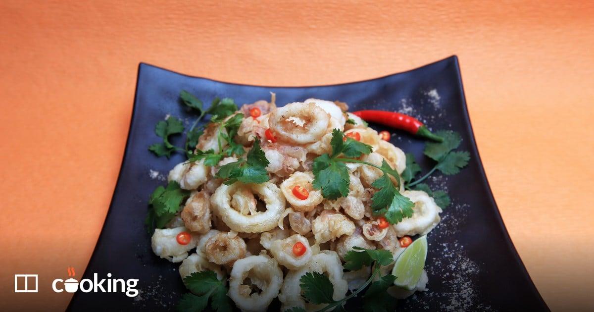 Vietnamese salt and pepper squid recipe - easy 30-minute dish
