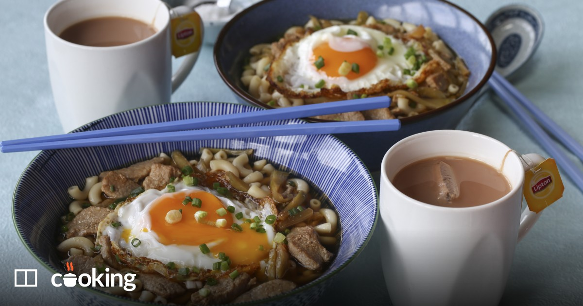 Quick and easy Hong Kong-style macaroni soup recipe