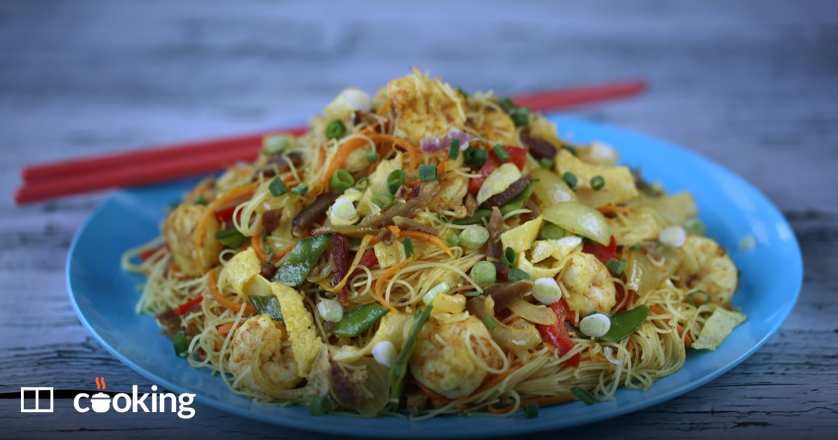 Easy Singapore noodles recipe