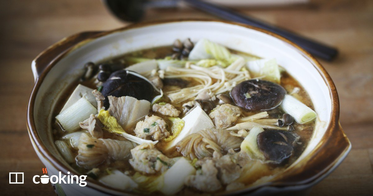 Chanko nabe (sumo wrestler stew) recipe - easy
