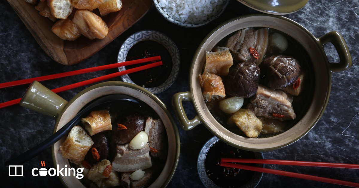 Pork bone tea Singapore style recipe - easy