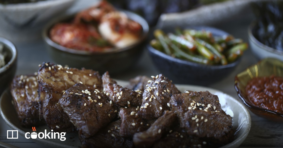 Korean barbecued short ribs (kalbi) recipe