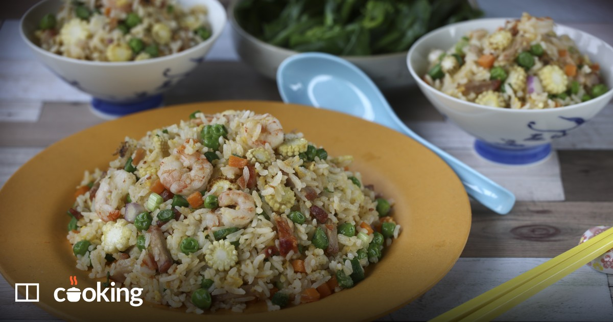 Yangzhou fried rice recipe - quick and easy