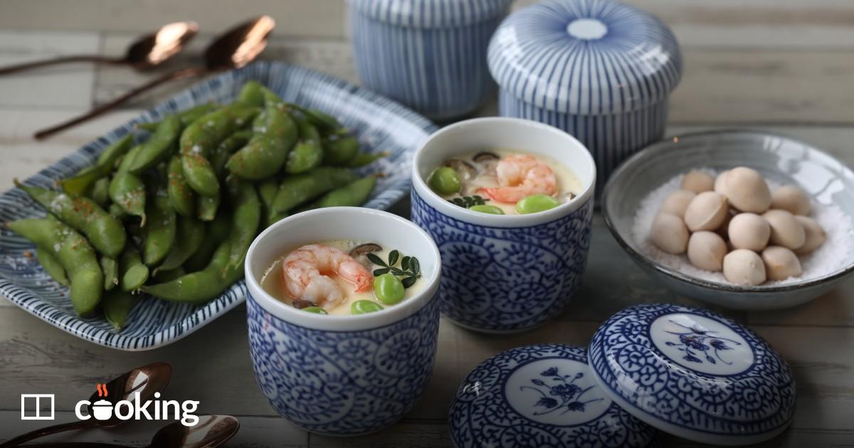 Chawanmushi recipe - easy Japanese savoury custard