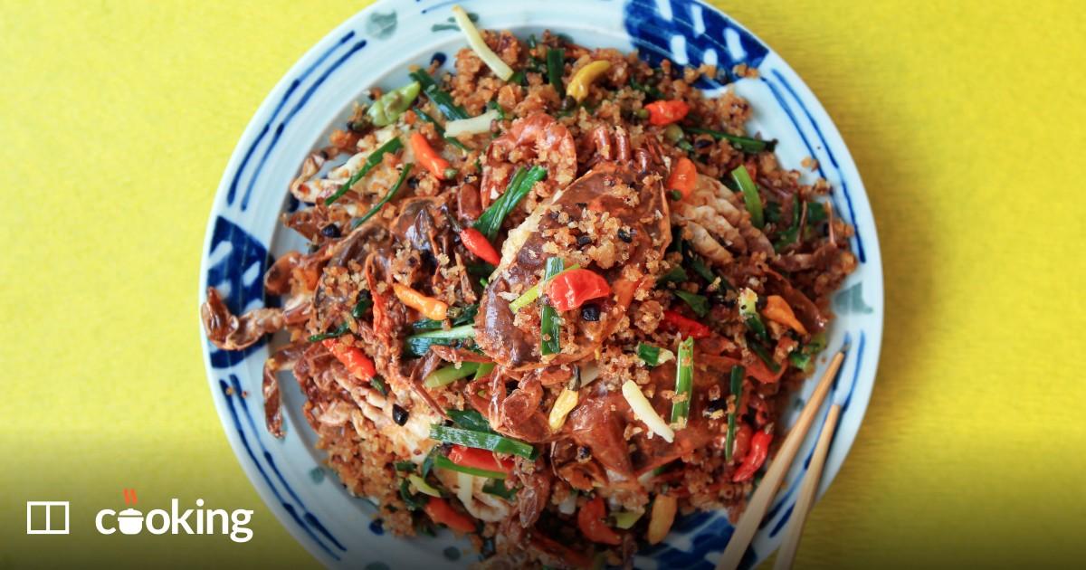 Typhoon shelter soft shell crabs recipe