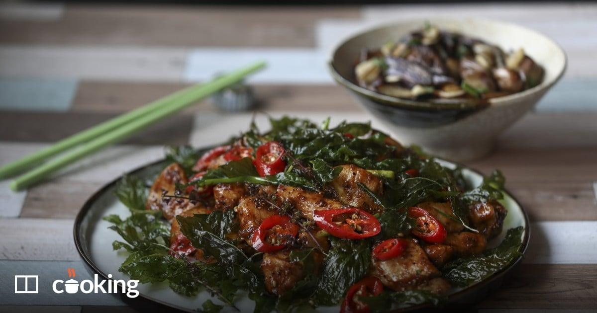 Sichuan pepper chicken (chin jiew gai) recipe