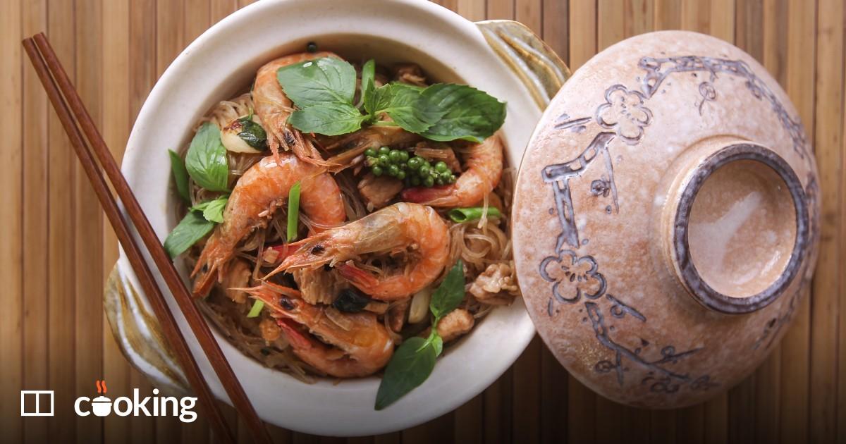Easy Thai glass noodles recipe