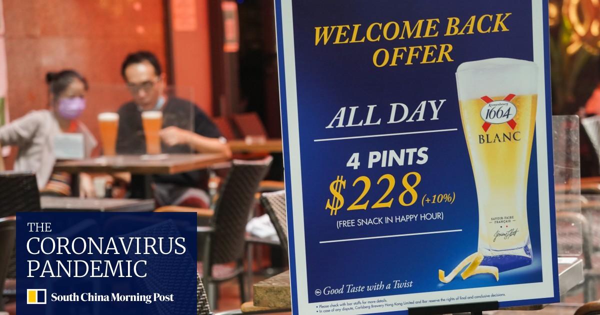 Hong Kong bar and restaurant owners angry at requirements for lifting Covid-19 curbs
