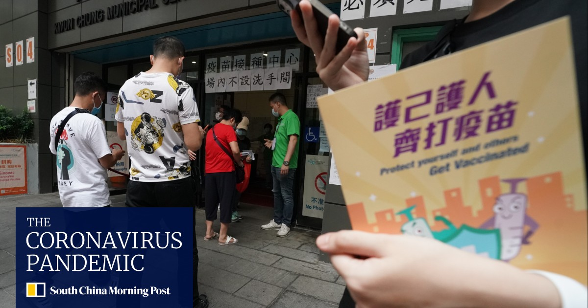 Hong Kong business chambers announce HK$35 million in vaccination giveaways