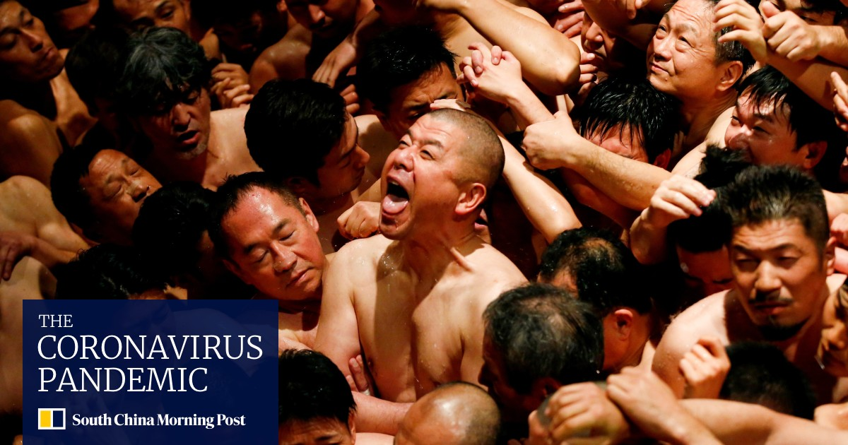 Fewer moons at Lunar New Year as Covid-19 hits Japan's Naked Man Festival