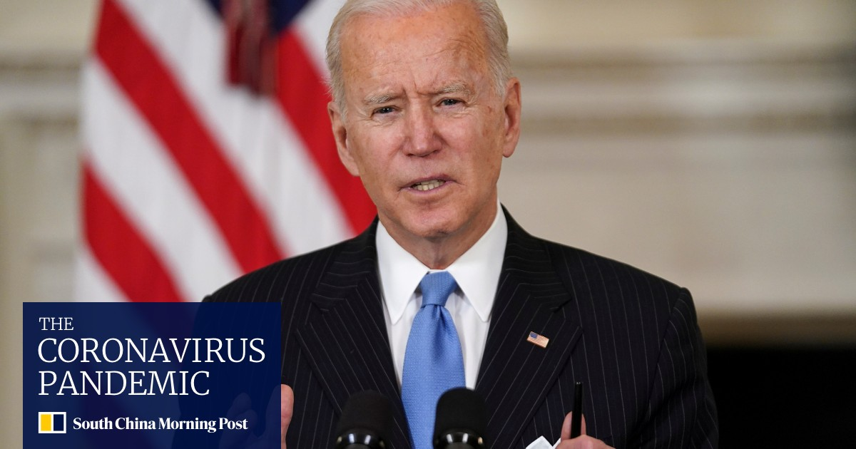 Biden says US to have enough Covid-19 vaccine for every adult by end of May