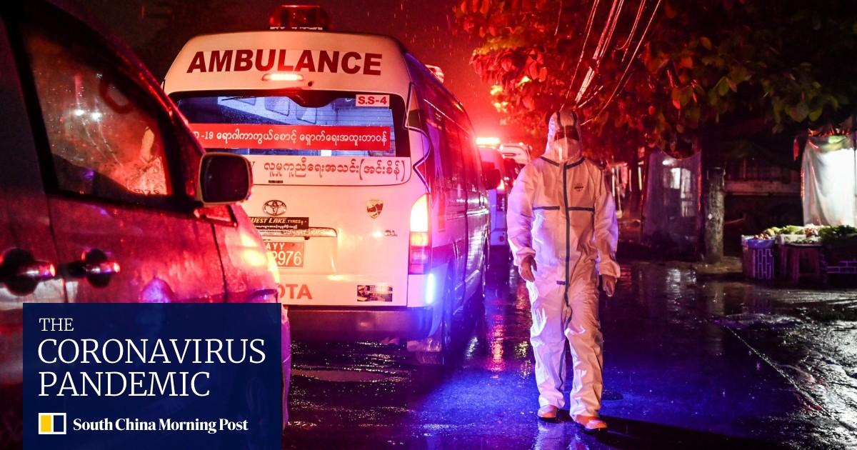 Coronavirus: Myanmar outbreak hits coup-shattered health system