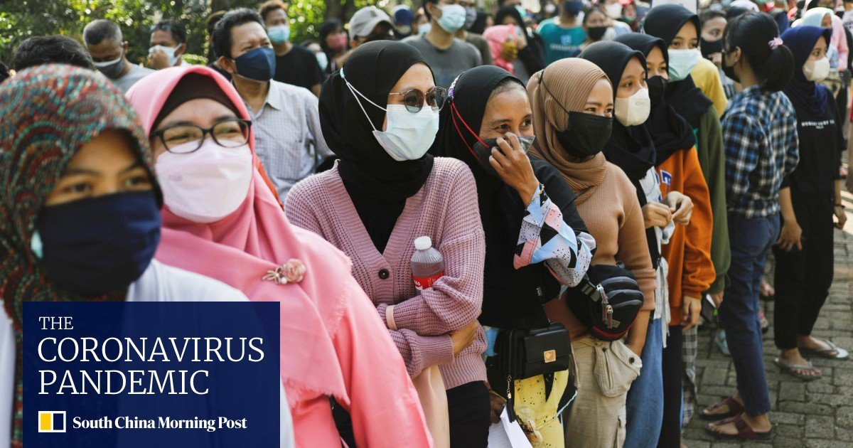 Red tape hinders Indonesia's vaccination drive, even as Covid-19 cases surge