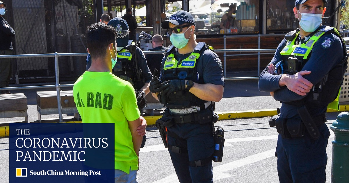 Image Coronavirus: Australia's Victoria sees record cases as Melbourne protests fizzle out