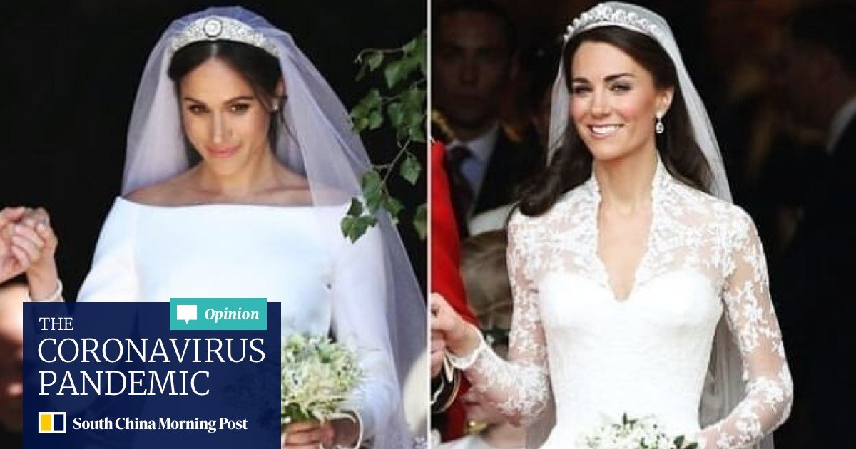 7 tiaras worn by meghan markle kate middleton and other royals on their wedding day south china morning post 7 tiaras worn by meghan markle kate