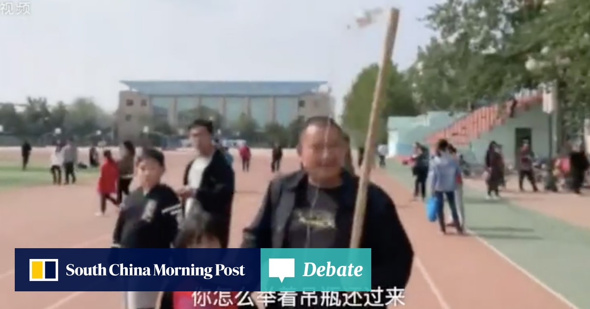 Chinese father takes daughter, 10, to top school's open day ...