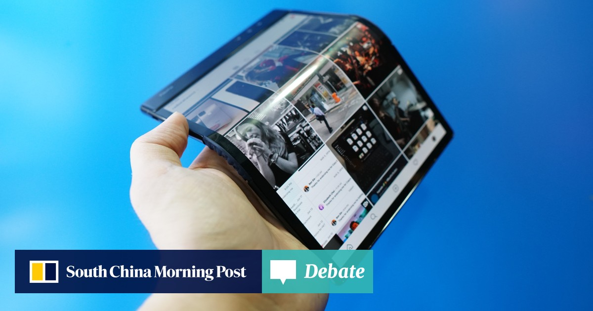World's first' foldable phone reviewed – and it's not a
