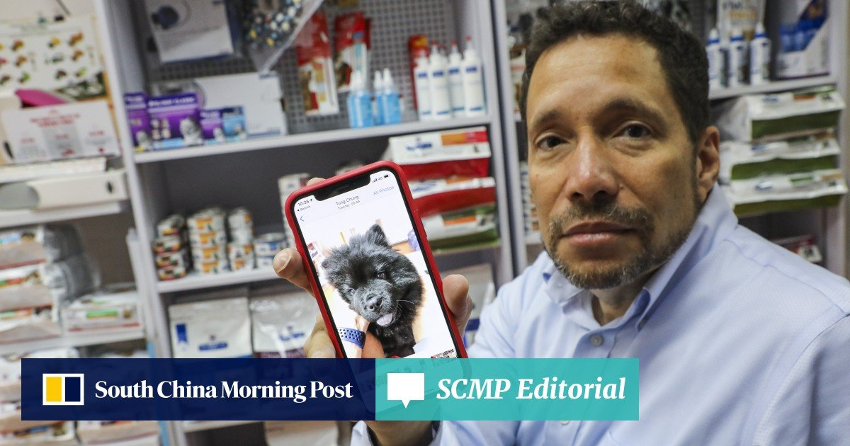 Dog owner's anger at Hong Kong authorities for quarantining