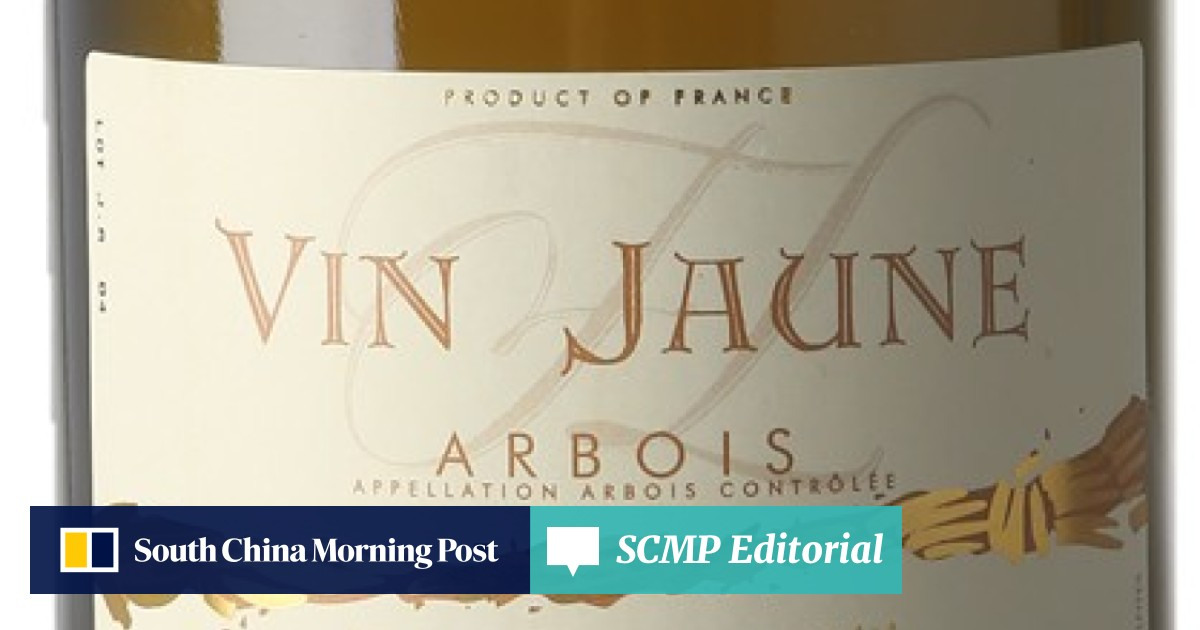 Vin jaune from eastern France is 'the durian of the wine