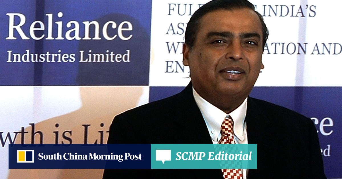 88e0dd4ab6 A look at Mukesh Ambani's US$2.5 billion shopping spree provides an insight  into how he plans to take on Amazon in India | South China Morning Post
