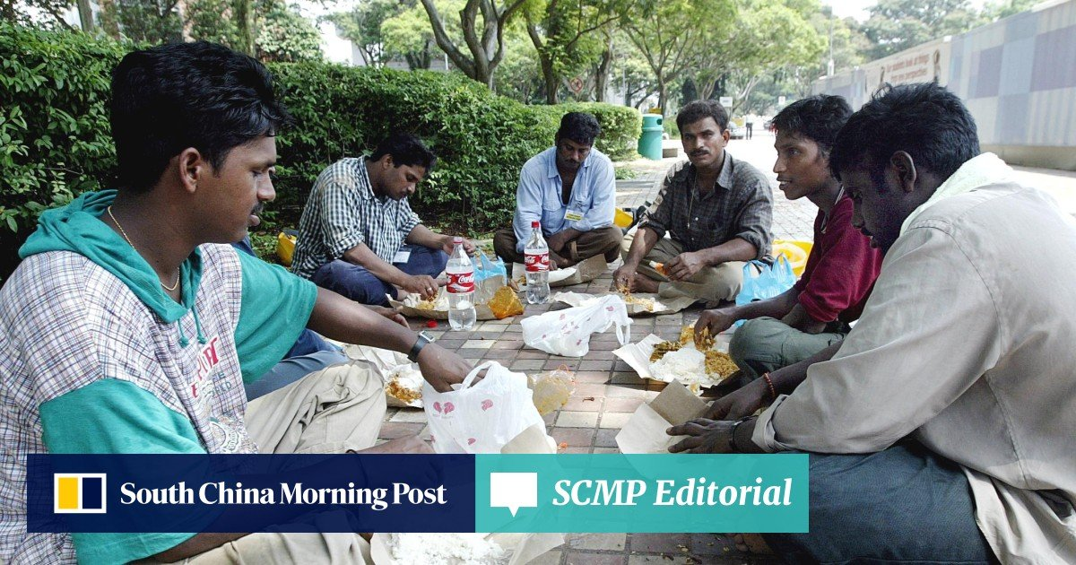 In rich Singapore, why must migrant workers go hungry? | South China