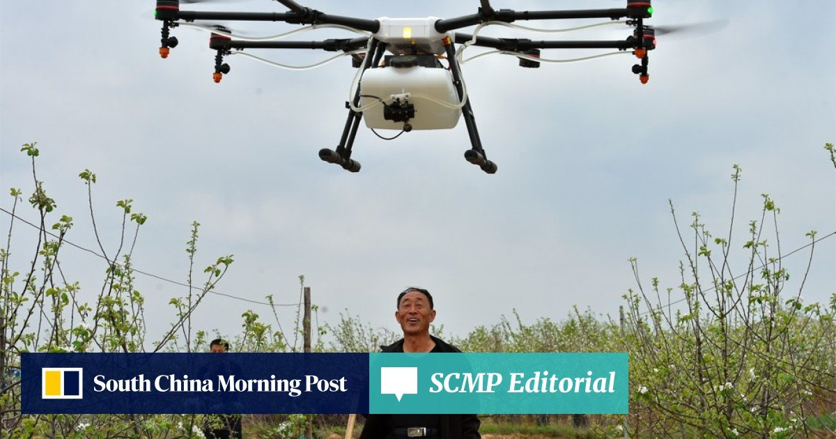 Meet the man behind one of China's biggest agricultural drone makers