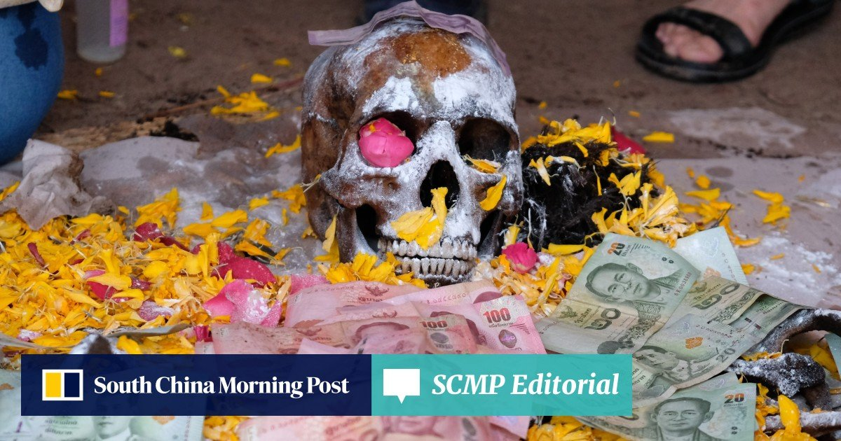 Digging up the dead: the Thai ceremony to pamper neglected
