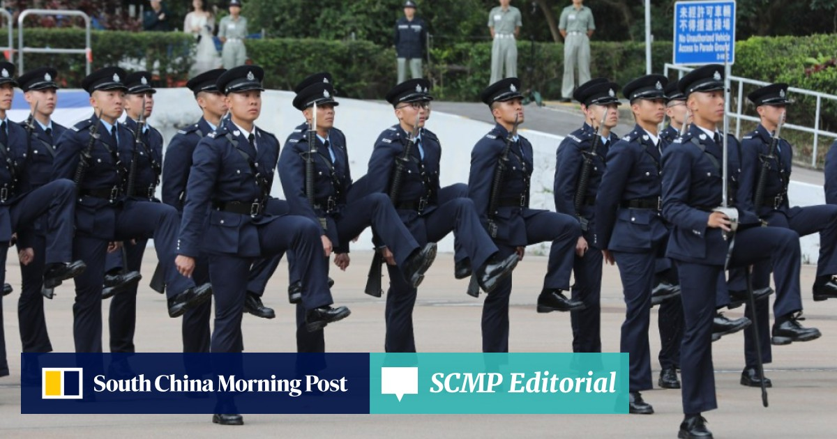Former policeman tells a rollicking tale of the Hong Kong force, and