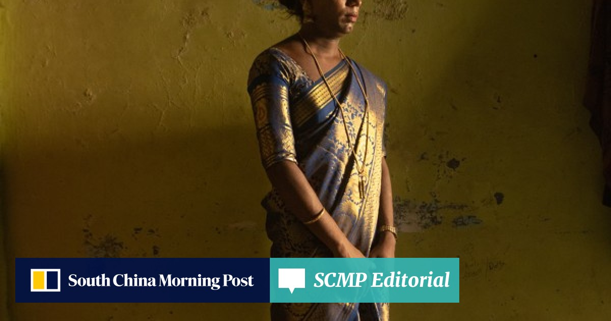 Amid the heat and dust of India's elections, transgender woman Sneha