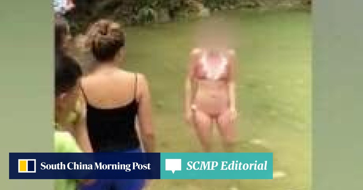 Foreigners' swim at Chinese ecology park causes ripple of