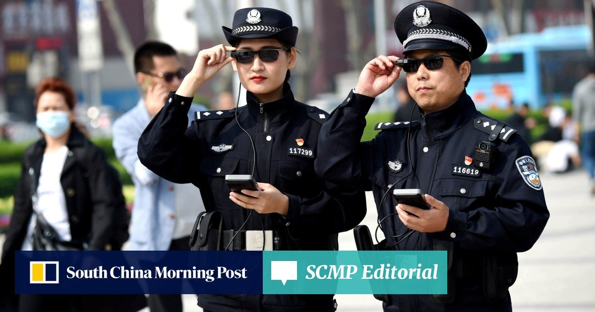 Chinese AR start-up develops smart glasses to help police catch