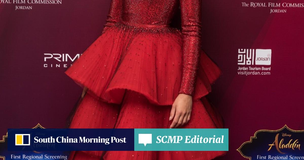 Aladdin's Princess Jasmine, Naomi Scott, has the fashion world