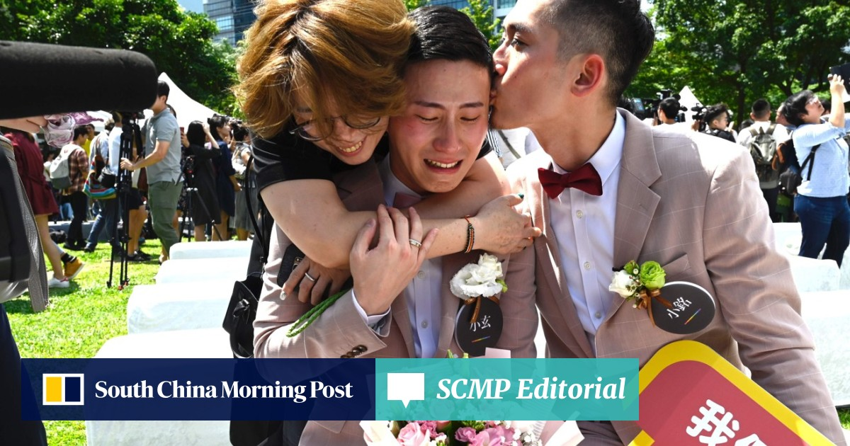 Homosexual marriage south china morning post