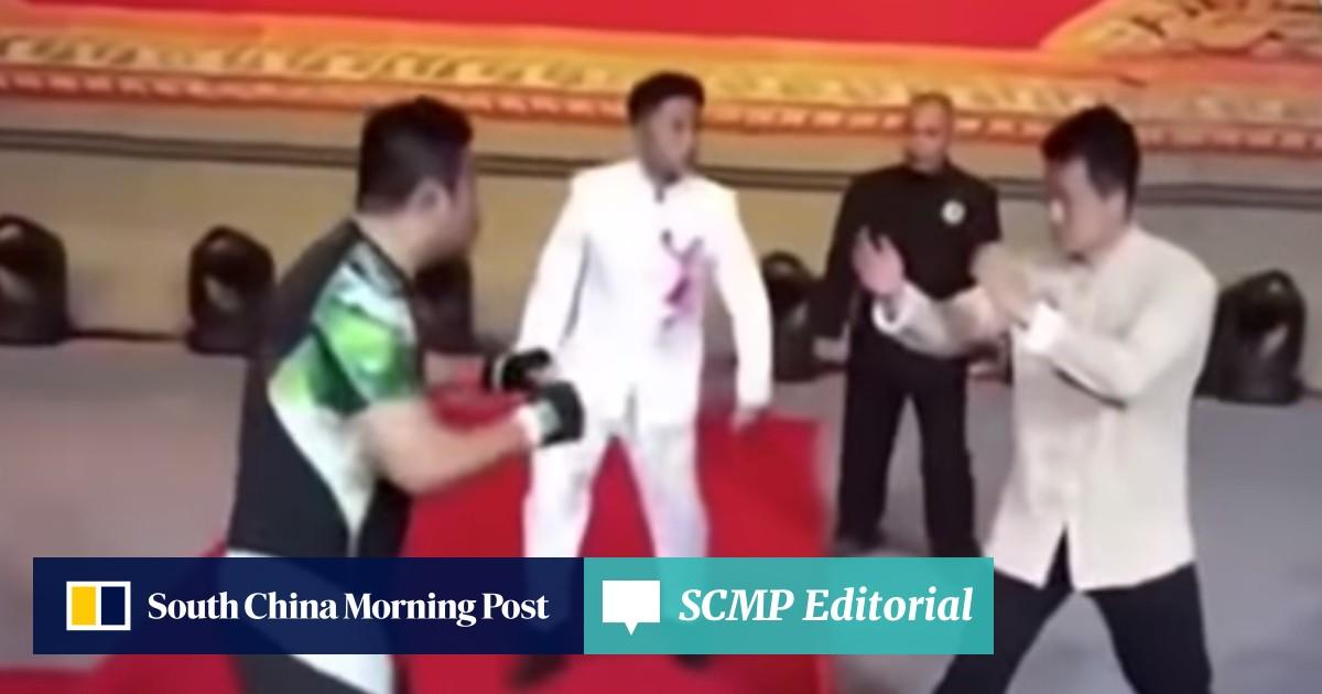 Wing chun 'master' Ding Hao challenges Xu Xiaodong to