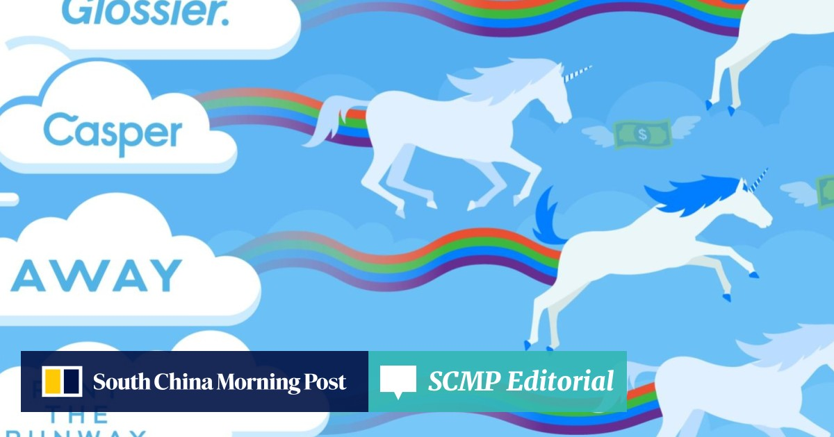 fc286e7789 How start-ups Glossier, Casper, Rent the Runway and Away became  billion-dollar 'unicorns' in 2019 | South China Morning Post