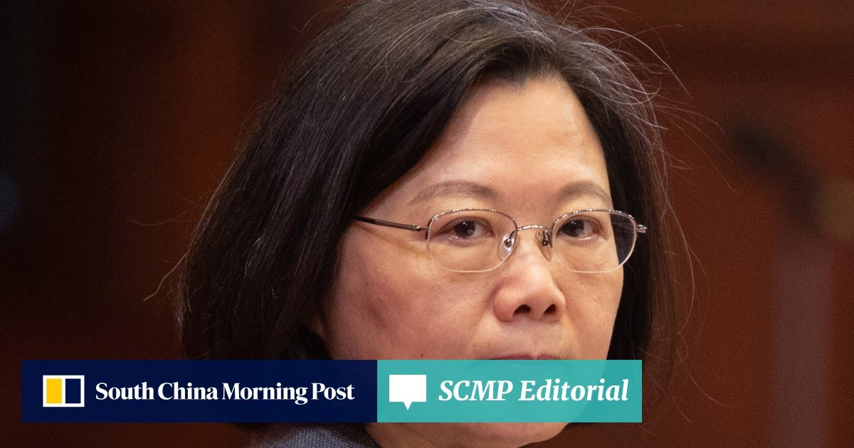 2edfcef30c5a5 Tsai Ing-wen endorsed to run for second term as Taiwan's president | South  China Morning Post