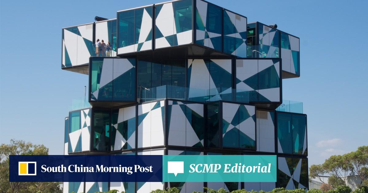 The d'Arenberg Cube: Australian vineyard grows five-storey Rubik's