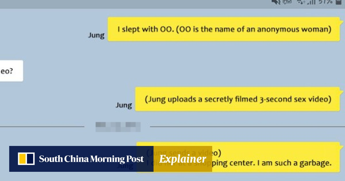 You raped her': Jung Joon-young and Seungri's texts about sharing
