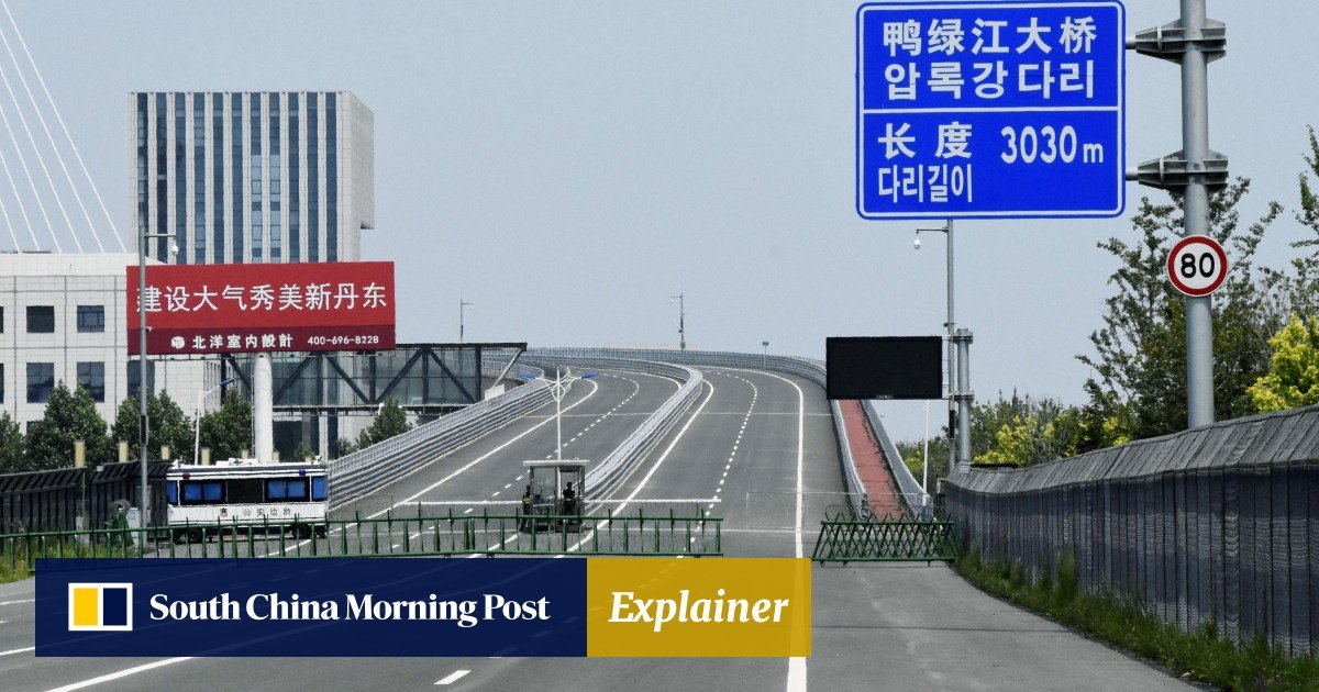 China's bridge to North Korea opens 3 years after it was built – but
