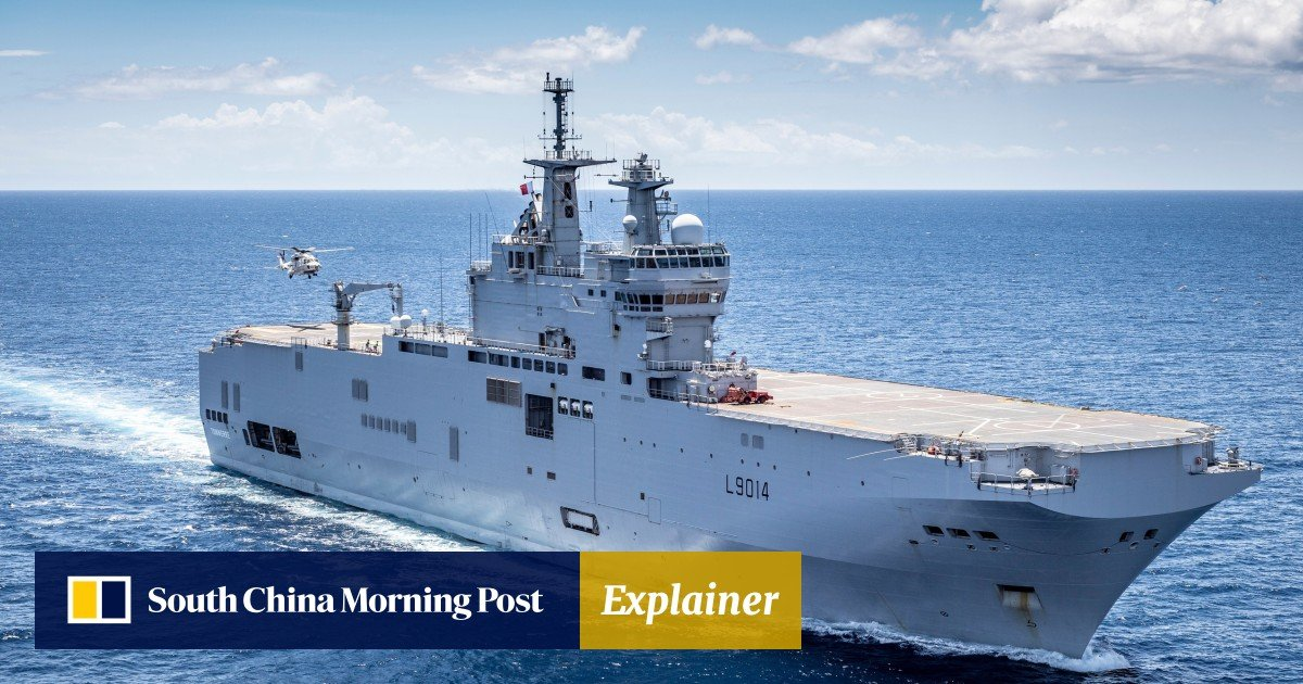 Why France is flexing its muscles in the South China Sea